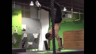 Fitness Enthusiast Falls Off Box