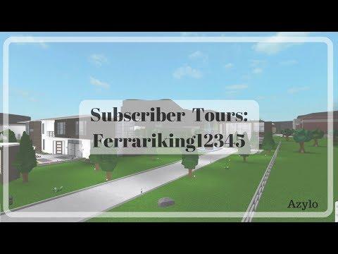 Roblox | Bloxburg Subscriber Tour: Axtrectius