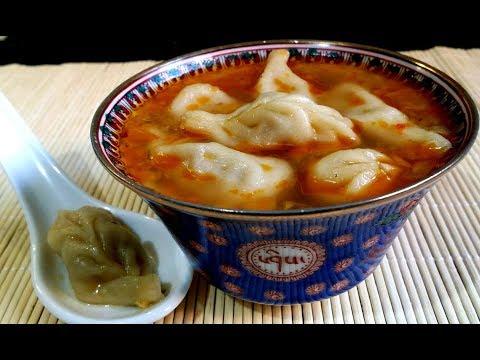 Dumpling soup|Tibetan Soup Momo|Winter soup series Nº1|TastyTreazure