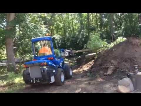 Multione 960 Mini Articulating Loader & Rayco 1522G Chipper