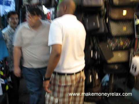 Petaling Street In Kuala Lumpur Malaysia - buy a watch, dog, food, girlfriend, anything!