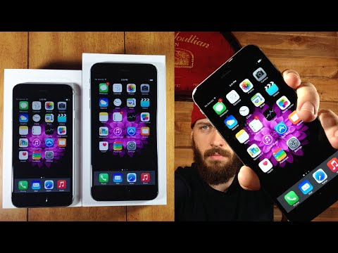 iPhone 6 vs iPhone 6 Plus Unboxing & First Impressions
