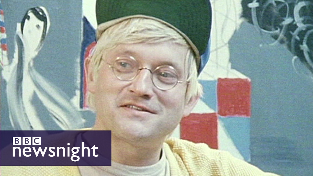 'I assume the best work is yet to come': David Hockney (1980) - Newsnight archives