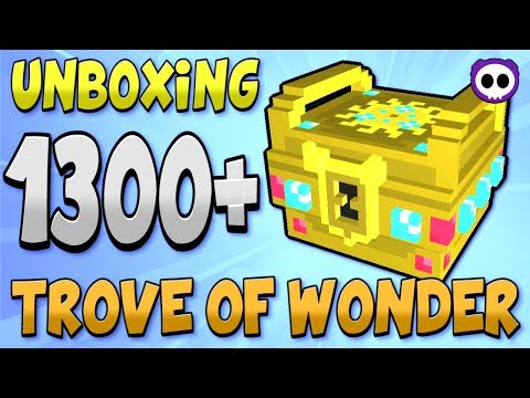 UNBOXING OVER 1300 TROVE OF WONDER (ToW) BOXES IN TROVE! WILL WE GET GANDA!?