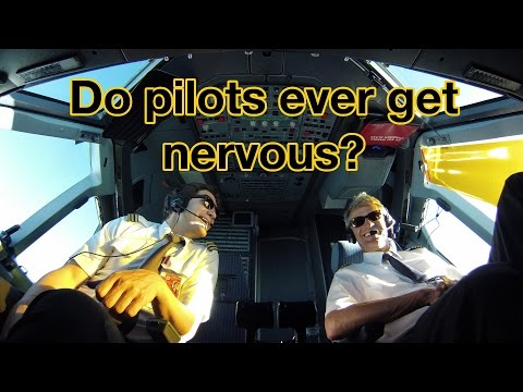 Do PILOTS ever get NERVOUS? Explained by