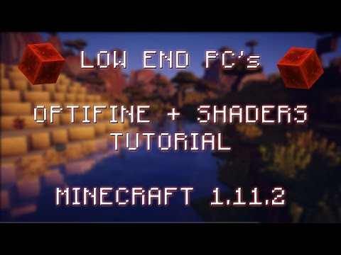 Minecraft Tutorial How To Install Optifine Shaders Mod Chocapic13 S L