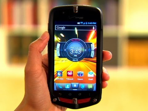 The Casio G'zOne Commando 4G LTE is a Hulk of a handset