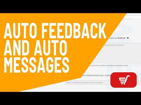 How to Use the Auto Feedback and Auto Messages