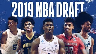 ThE REAL 2019 NBA MOCK DRAFT  (Updated Post Draft Lottery 1-14)
