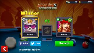8 Ball Pool  - Jakarta - (WITH EXCALIBUR CUE!!!) - INSANE LUCK