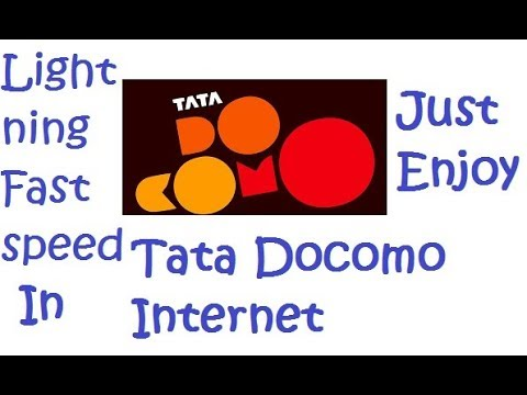 Best APN  for Tata Docomo internet connection.