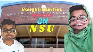 Bengali Aunties Reaction On NSU  Yellow