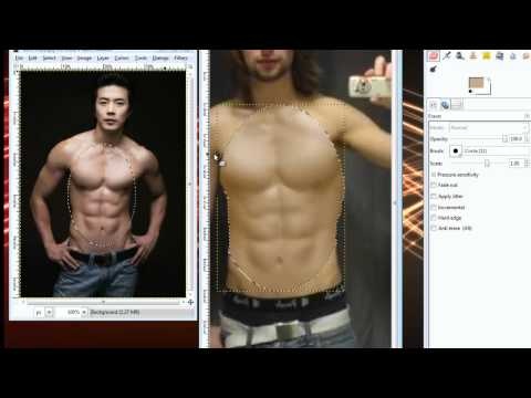 How to Get Six Pack Abs in Photos