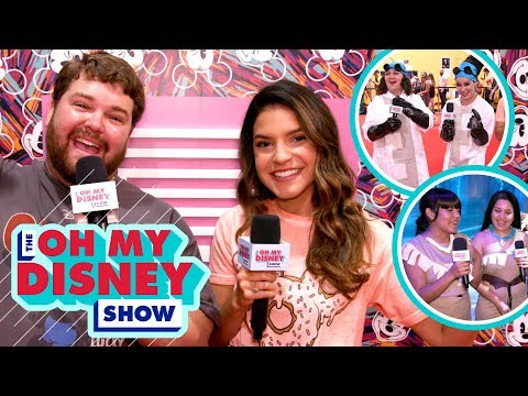 Brian Hull Does Disney Character Voices at the D23 Expo | Oh My Disney