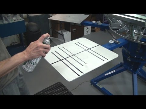 Learn Screen Printing: How To Keep Spray Tack Adhesives On Your Pallets