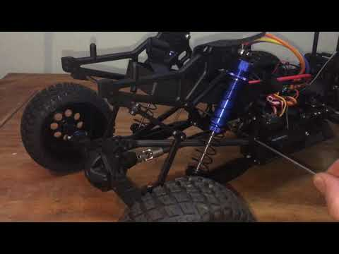 FTX Outlaw   Custom Rear Anti Role Bar Assembly & Fitment