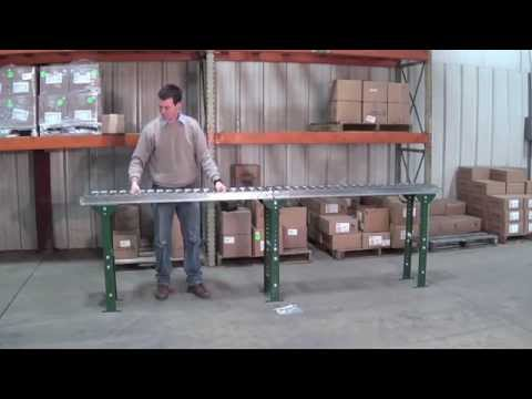 How to Set Up a Roller Conveyor