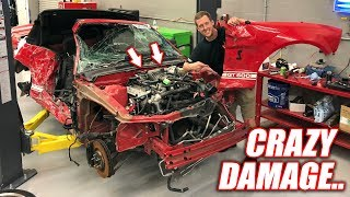 Assessing Our WRECKED GT500! This Engine Is a BEAST... What a Deal!