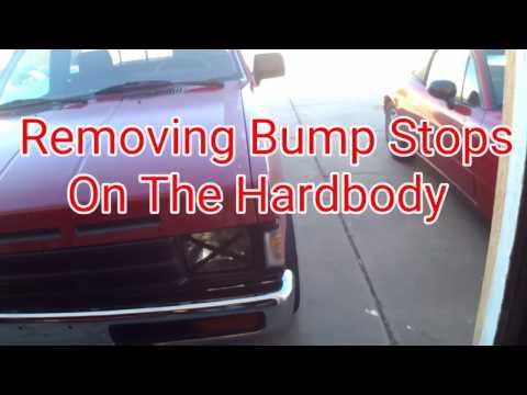 Nissan Hardbody Bump Stop Removal