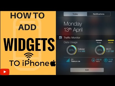 How to Get Widgets in iPhone iOS 10.2 | 2017 |