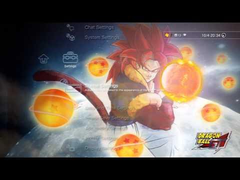 FREE PS3 Dyanamic Theme (Dragonball GT)