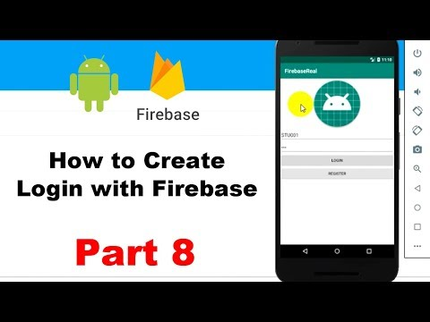 How to create login with firebase in Android Studio - Part 8