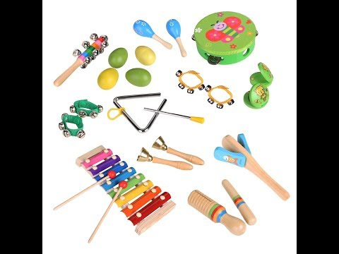 Review: Toddler Toys Musical Instruments Set for Kids 20Pcs