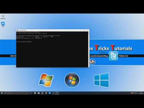 Find Out Motherboard Serial & CPU Brand/Clock Speed Using Command Prompt Tutorial