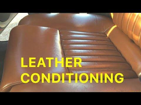 How To Clean and Condition Car Leather Seats