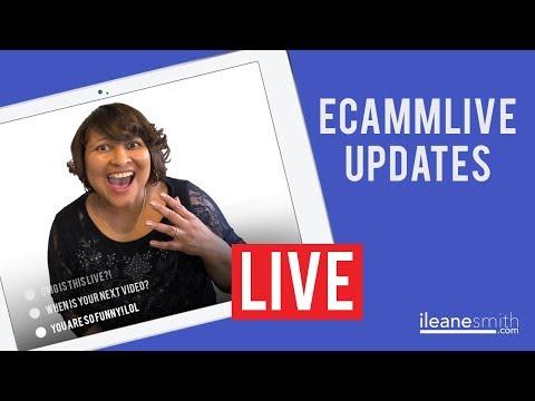 New EcammLive Updates for 2018