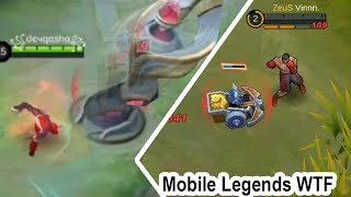 Funny Moments : Best Fighter Chou or Paquito or Badang  | MOBILE LEGENDS Wtf with tiktok memes