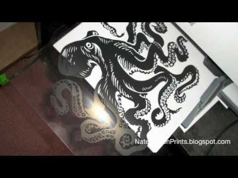 CRAFTERS MUST WATCH! SCREEN PRINT AT HOME!
