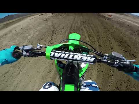 2019 Kawasaki KX450 Onboard with Axell Hodges