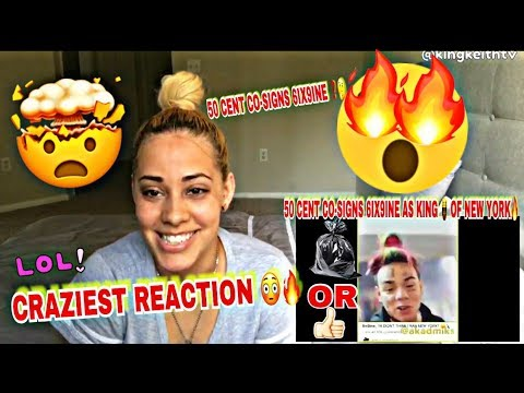 6IX9INE KING OF NEW YORK 👑 '50 CENT CO-SIGNS' OFFICIAL VIDEO REACTION MUST WATCH!