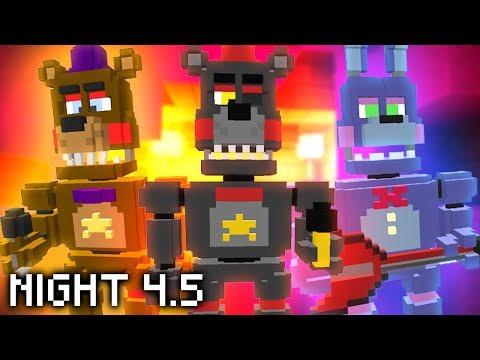Minecraft FNAF 6 Night 4.5 - LEFTY & THE ROCKSTAR ANIMATRONICS! (Minecraft FNAF Roleplay)