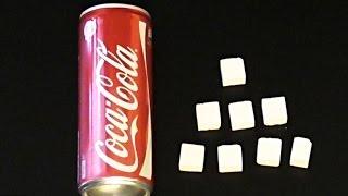 Amazing Coca Cola Suggar Test!