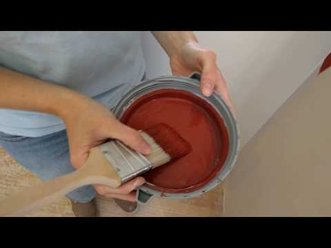 How To Cut In Paint on Accent Walls By Hand Without Tape - Ceiling & Corners