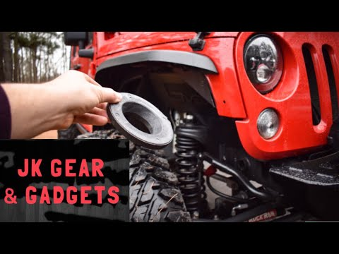 Spring Spacer Install | Level or Lift your Jeep