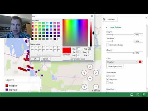 Excel Video 507 3D Maps Categories and Colors