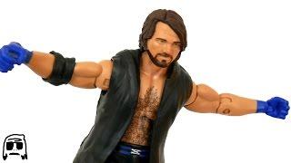 AJ Styles Elite 47 WWE Mattel Toy Review!!