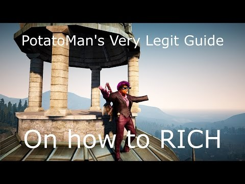 PotatoManVIII Very Legit Guide on how to RICH