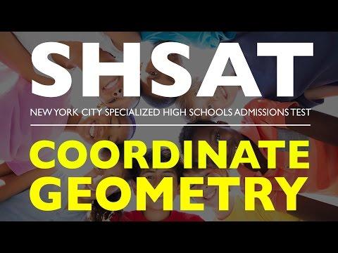 SHSAT MATH | Coordinate Geometry | Specialized High School Admission Test | New York
