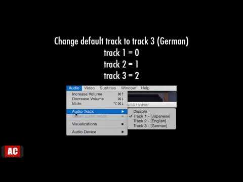 Change Default Audio Track in DVD on Mac