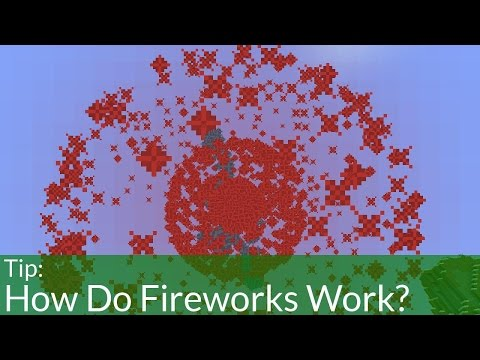 How Do Fireworks Work in Minecraft?