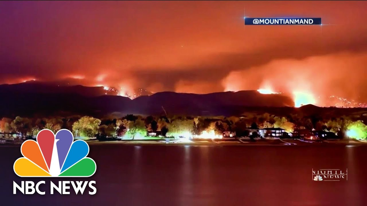 Colorado Fires Threaten Thousands   NBC Nightly News