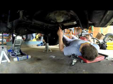 Changing to Stainless Steel Bolts on Muffler and Catalytic Converter