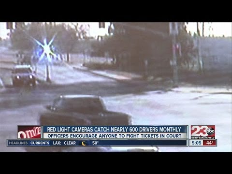 Costly red light camera fines