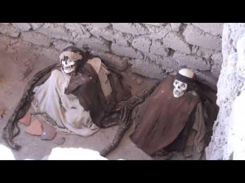 Mummies of Chauchilla Cemetery - Peru