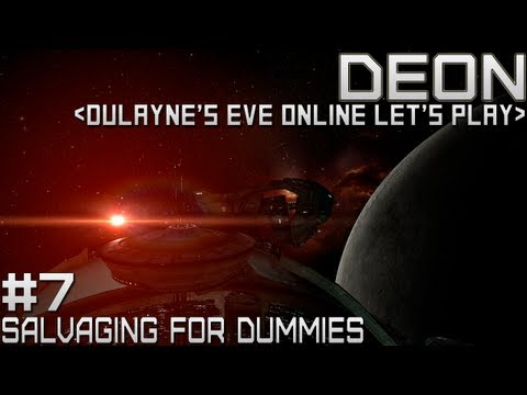 Lets Play EVE Online - Episode 7 - Salvaging for Dummies (Business Career Agent Gameplay)