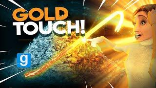 THE GOLDEN TOUCH   Gmod Sandbox (King Midas Touch)